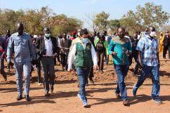 فريق مركز الملك سلمان للإغاثة يختتم زياته التفقدية لجمهورية جنوب السودان