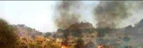 مواجهات مسلحة وحرق اجزاء من مخيم للنازحين بدارفور