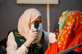 مركز الملك سلمان للإغاثة يختتم حملته التطوعية لمكافحة العمى والأمراض المسببة له في السودان