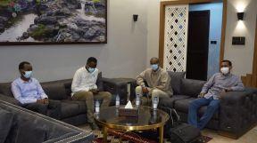 عودة وفد لجنة الإسناد من الجنينة بعد اجراء عمليات لمصابي الأحداث