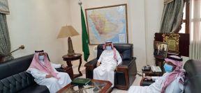 سفير خادم الحرمين الشريفين لدى السودان يستقبل الملحق الثقافي السعودي الجديد
