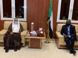 السفير السعودي يلتقي بوزير المالية