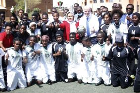 انفانتينو: نجاح دوري السيدات سيغير صورة السودان