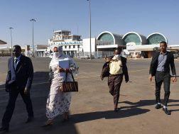 وزيرة الخارجية إلى جوبا في أول محطة خارجية
