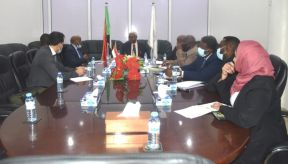 النائب العام يلتقي وفد المحكمة الجنائية الدولية