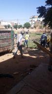تنفيذاً لتوجيهات والي الخرطوم: كرري تشهد أعمالاً مكثفة لنظافة الأسواق والشوارع والمرافق الخدمية والأحياء السكنية