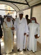 سفير خادم الحرمين الشريفين يزور الشيخ  موسى هلال