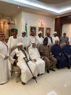 السفير السعودي يستقبل القائد مناوي والرئيس الفخري لنادي المريخ وعدد من الشخصيات السودانية
