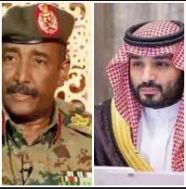 ولي العهد السعودي يُجري اتصالاً هاتفياً برئيس المجلس السيادي الانتقالي