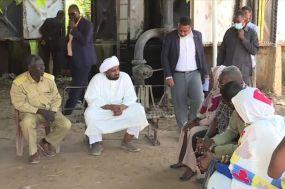 محمد الفكي يتفقد محطة مياه أم روابة