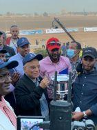 سفير خادم الحرمين الشريفين يشارك في ختام سباق الديربي السوداني للخيل