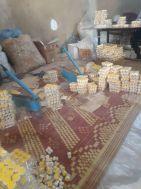 ضبط  مصنع مخالف يعمل في تصنيع كريم للتجميل