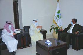 سفير خادم الحرمين الشريفين لدى السودان يلتقي والي ولاية الخرطوم