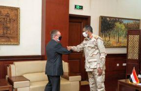 النائب الأول لرئيس مجلس السيادة يؤكد أهمية التنسيق والتعاون مع الولايات المتحدة في كافة المجالات