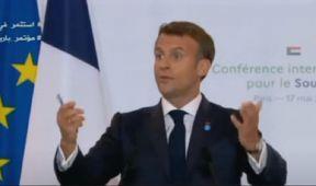 ماكرون يعلن الغاء ديون فرنسا على السودان والمقدرة ب5مليار دولار