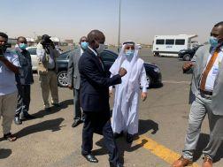 عضو المجلس السيادي الهادي ادريس الى المملكة في زيارة رسمية