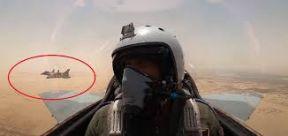 أقوى مقاتلات الجيش المصري تظهر في سماء السودان
