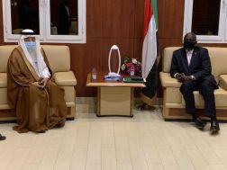 سفير خادم الحرمين الشريفين لدى السودان يلتقي وزير المالية والتخطيط الإقتصادي