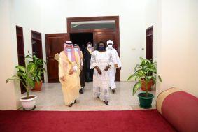 وزير الدولة لشؤون الدول الأفريقية السعودي يصل إلى جمهورية جنوب السودان