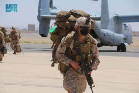 """مناورات تمرين """"مخالب الصقر4"""" بين القوات السعودية والأمريكية"""