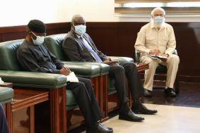 حمدوك يبلغ رئيس مفوضية الاتحاد الافريقي:لا بد من التوصل لاتفاق قانوني ملزم حول ملء وتشغيل سد النهضة