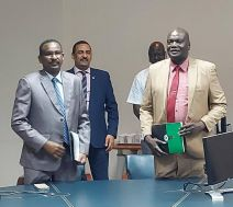 توقيع بالاحرف الأولى على إنشاء شركة خدمات بترولية بين جمهورية السودان وجمهورية جنوب السودان
