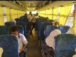 شركة المواصلات العامة ترحل طلاب الشهادة السودانية مجانا
