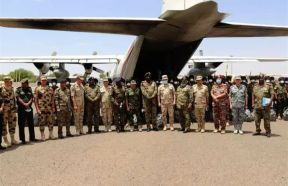 توقيع مذكرة تفاهم بين الجيشين السوداني والمصري