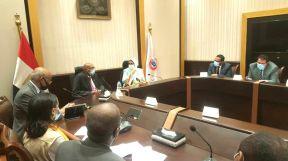وزيرا الصحة المصرية والسودانية يبحثان التعاون الصحي بين البلدين