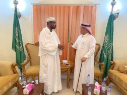 السعودية والسودان يبحثان تعزيز التعاون المشترك في الشئون الإسلامية والأوقاف