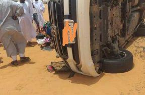 مصرع 6 أشخاص من أسرة واحدة في حادث بطريق شريان الشمال