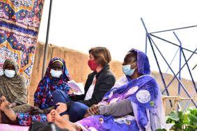 مسؤولة أمريكية بعد لقائها بوالي شمال دارفور والنازحين: التزمت لهم بالضغط من أجل المزيد من التقدم للجميع